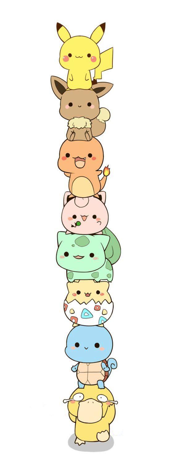 Photo of Pikachu, Evoli, Salamèche, Rondoudou, Bulbisard, Toguépi, Carapuce, Psycoquaqua …