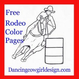 rodeo coloring pages rodeo events bull riding barrell