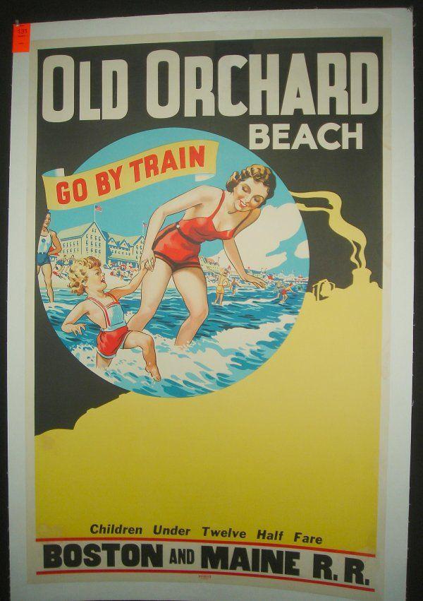 Orchard Beach Bronx New York City Travel Poster Pelham Park Pin Up Art Print 272