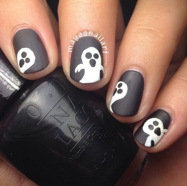 30 Super Creative Black and White Nail Art Designs - 30 Super Creative Black And White Nail Art Designs White Nail Art