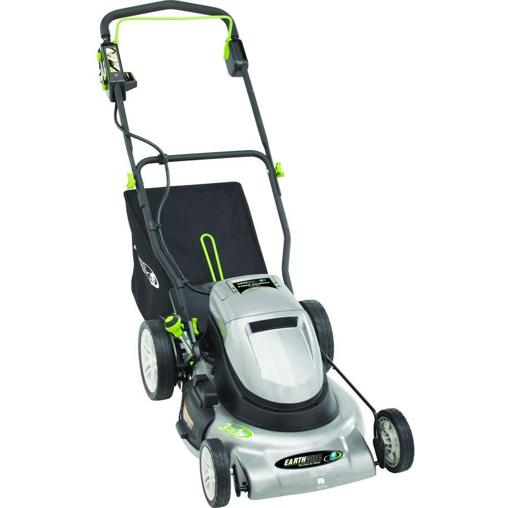 20 in  Rechargeable Cordless Battery Walk Behind Electric