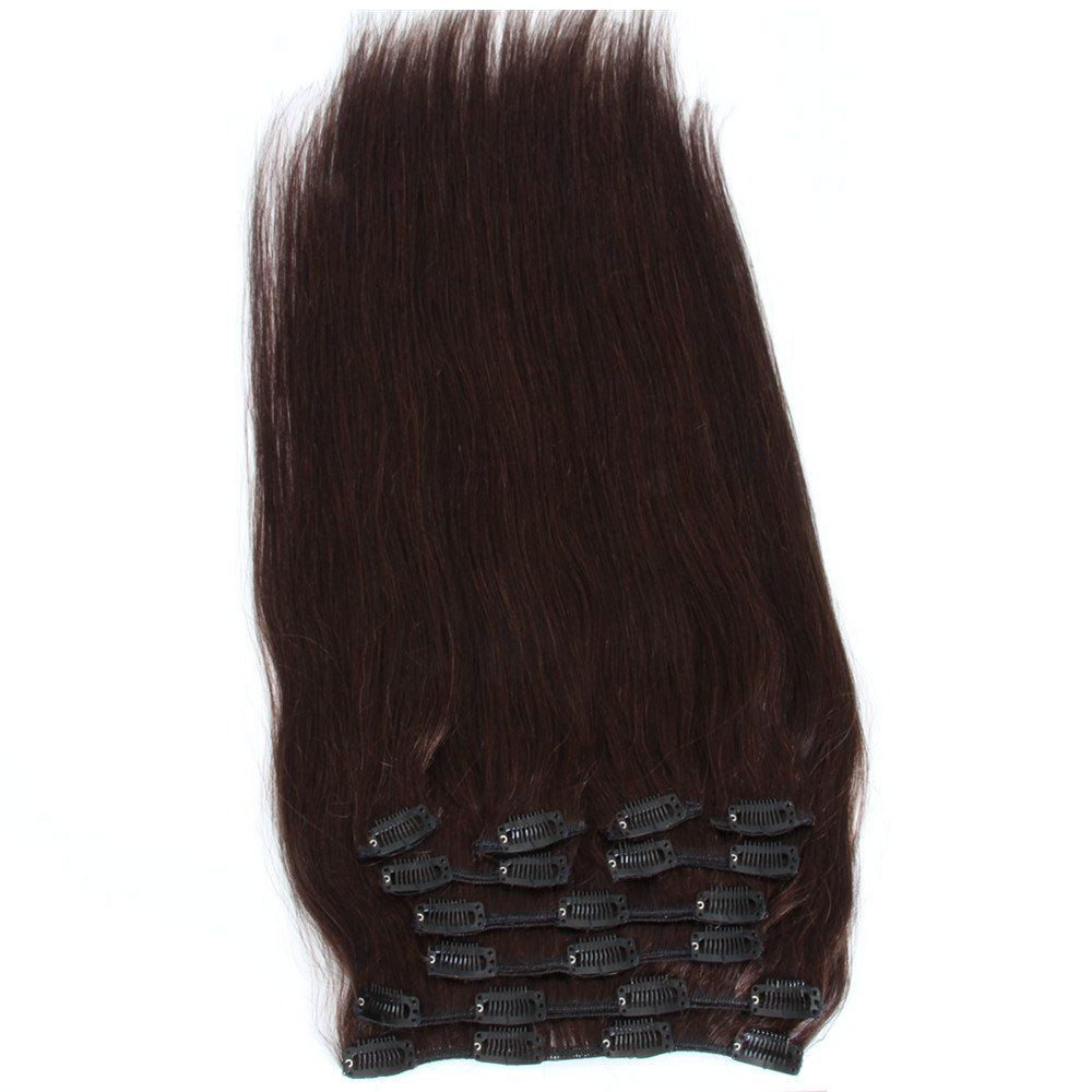 Extra Thick Deluxe Clip In Extensions 100 Real Human Hair Clip On