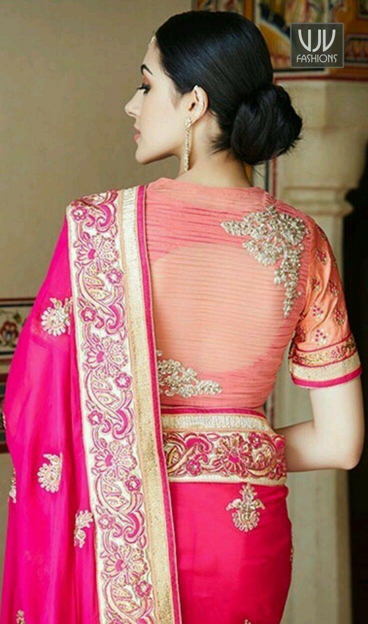 Design of saree blouse pin by raj kathiriya on blouse blouses  pinterest  blouse designs