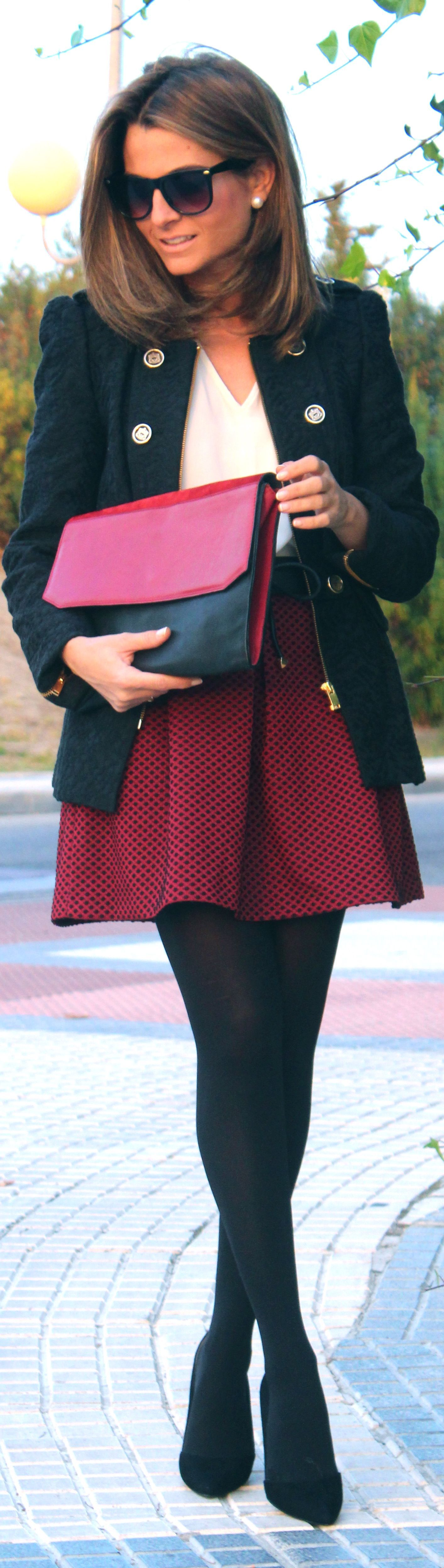 #burgundy / #bordeaux by Oh my Looks