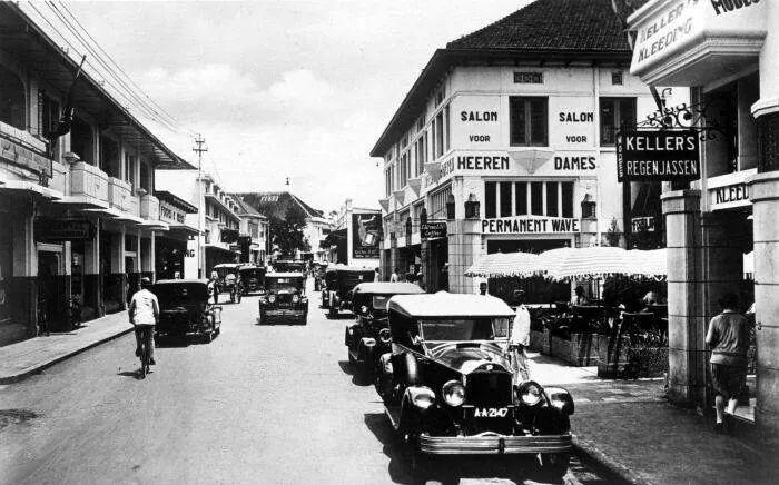 Bragaweg Bandoeng 1931