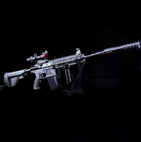 Pubg weapon assault rifle m416 keychain accessory aditya - M416 wallpaper ...