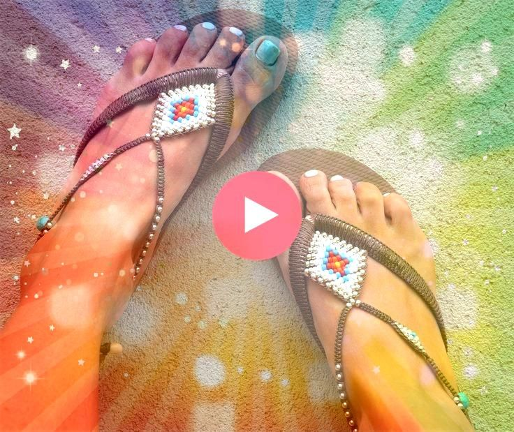 Flip Flop Sandals Boho Sandals Rose Gold Havaianas Women Sandals Foot Jewelry  Bohemian Flip Flop Sandals Boho Sandals Rose Gold Havaianas Women Sandals Foot Jewelry Wome...