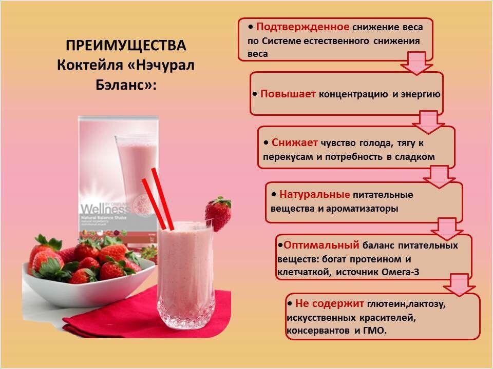 Коктейль для похудения велнес как пить