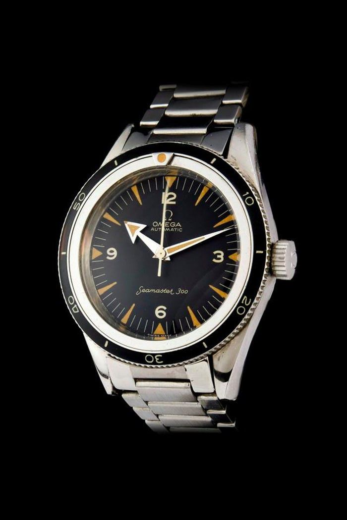 1c7740c0a7382 Vintage Eye for the Modern Guy  Omega Seamaster 300 60th Anniversary ...