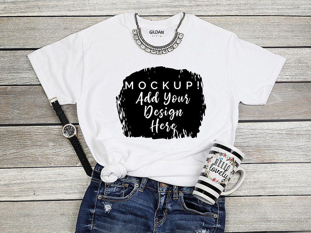 Download T Shirt Mockup Bundle Shirt Mockup Tshirt Mockup Shirts