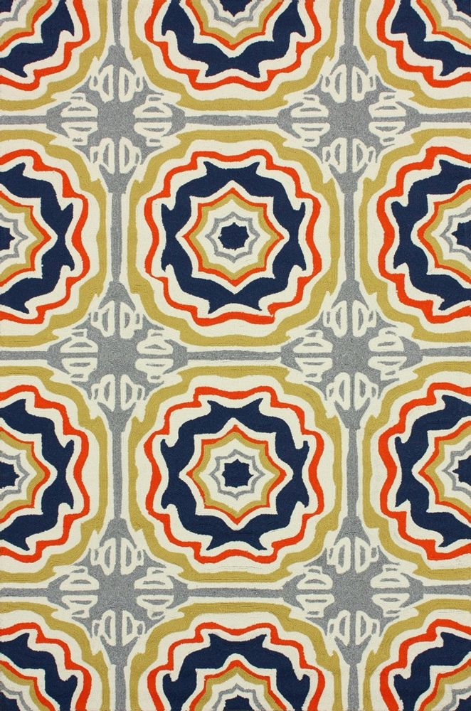 Nuloom - Nuloom Hand Hooked Sevilla Tiles Multi Area Rug #104522