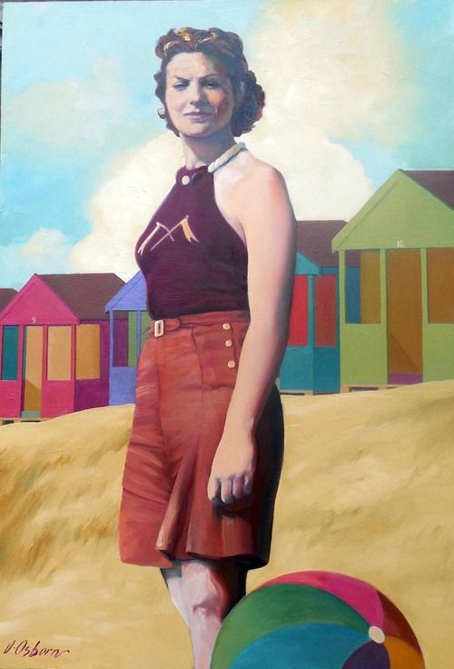 jacqueline Osborn  On The Beach