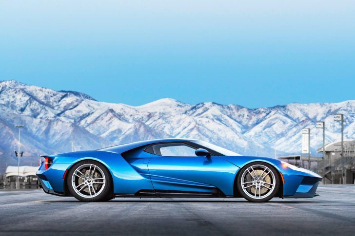 Ford Gt Side View