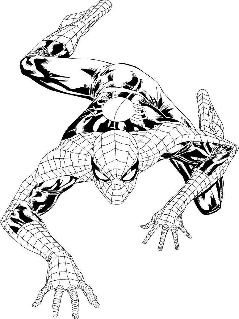 The Amazing Spiderman Spiderman Coloring Coloring Pages For Kids Coloring Pages