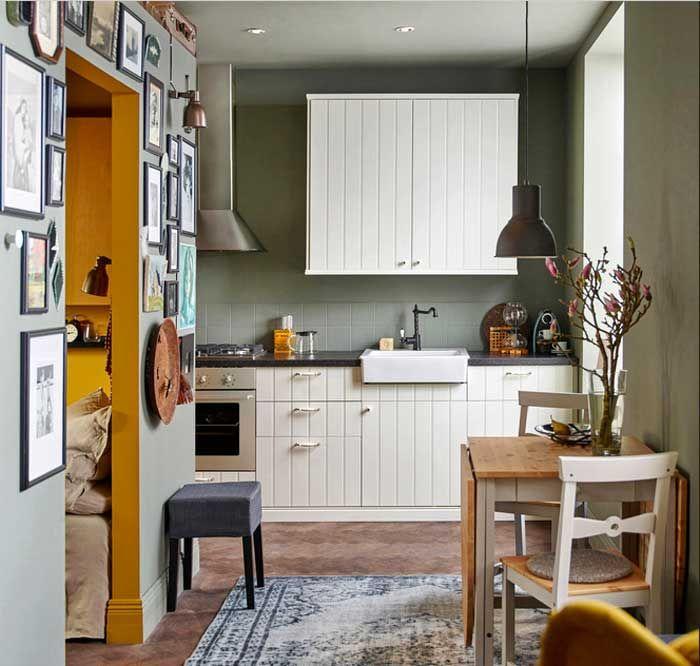 Ikea kleine küchen mit klassisch küchenmöbel installation für kleine