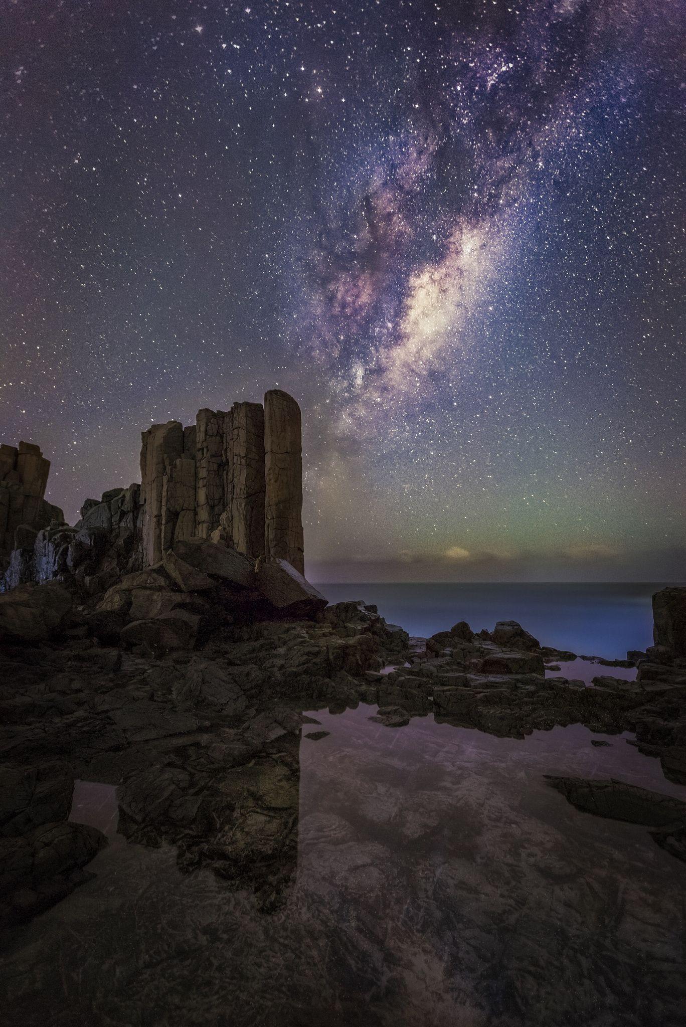 The Starry Night by Tim Fan on 500px