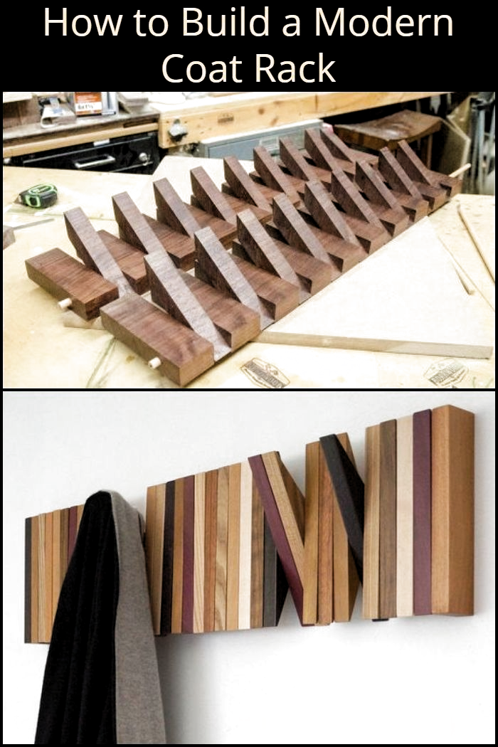 Photo of How to Build a Modern Coat Rack – Architecture Designs –  How to Build a Modern …