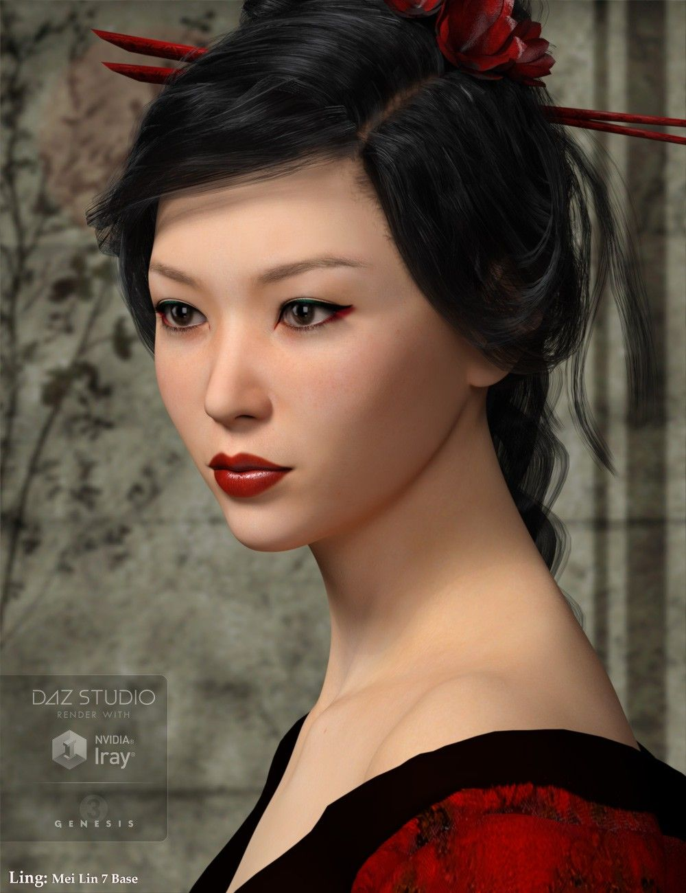 MRL Ling | 3D Models and 3D Software by Daz 3D | Daz3D Characters
