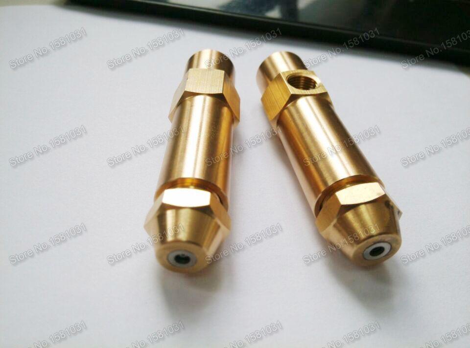 2.5mm air atomizing waste oil nozzle air atomizer spray nozzle waste oil burner nozzle