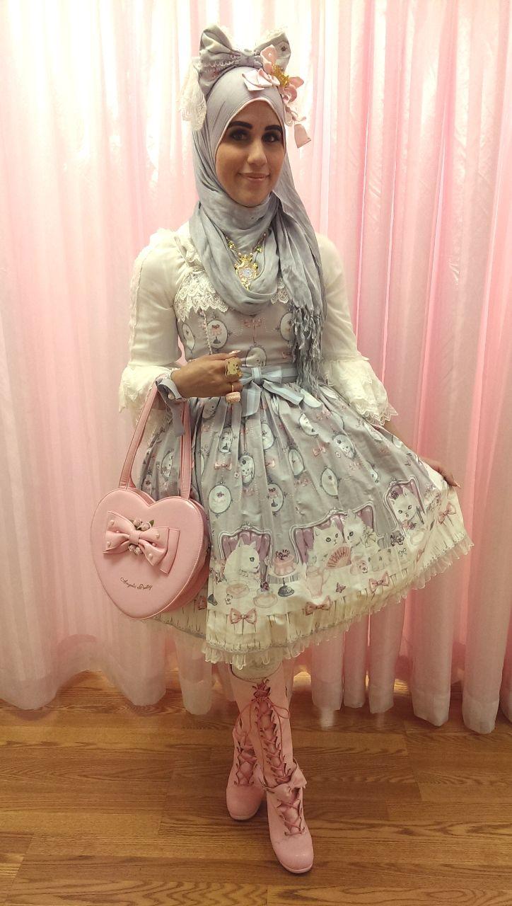 1403838d8 La MODA 'Lolita' es la nueva tendencia musulmana INSPIRADA en Japón ...