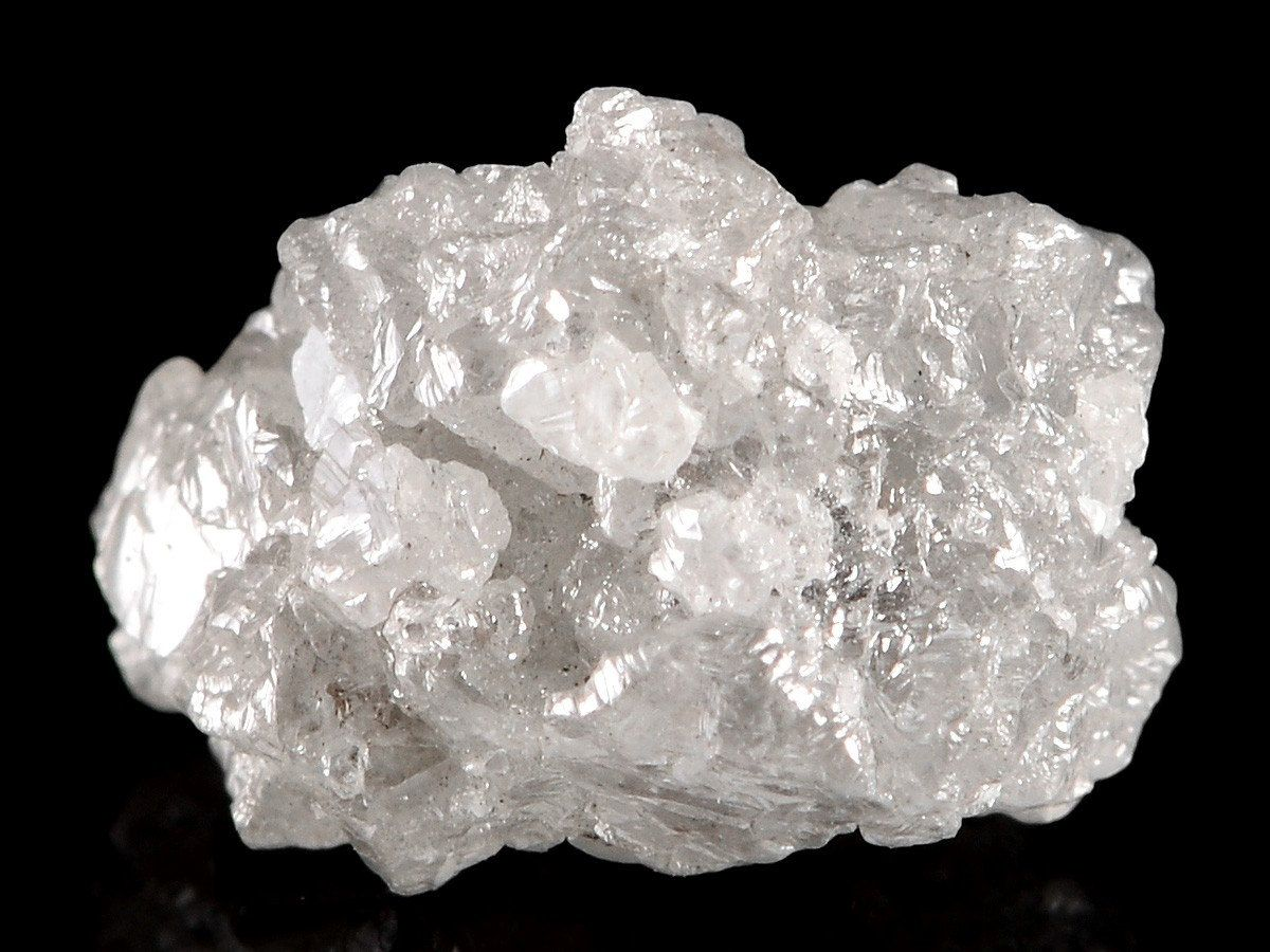 Raw Rough Diamond And Quotes: Beautiful Silvery Cubic Cluster Rough Diamonds By