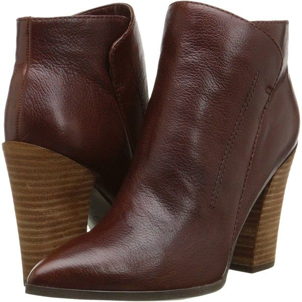 Womens Boots GUESS Hardey Brown Leather