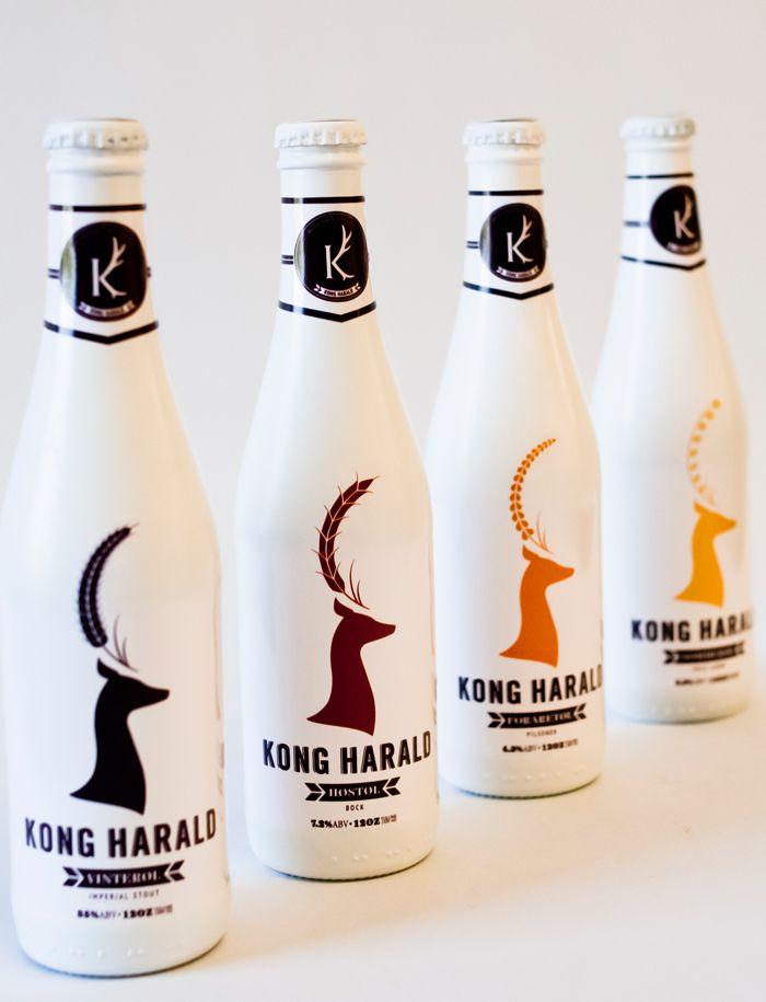 Student Spotlight Kong Harald Beer Beer Packaging Design Beer Packaging Beer Bottle Design