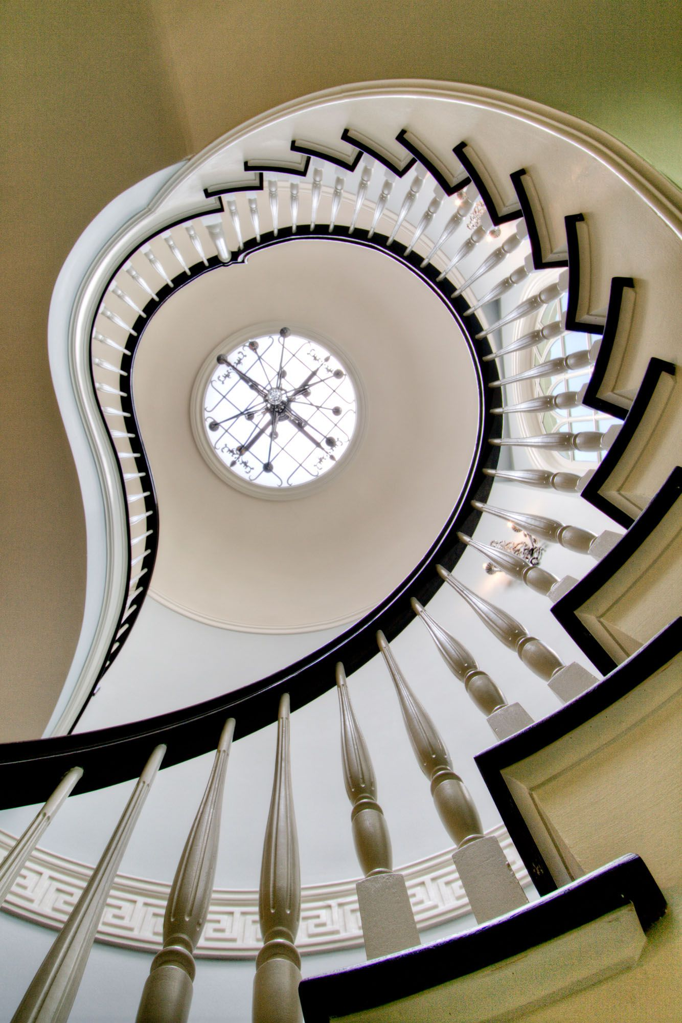 West Paces Park Residence   Atlanta   Harrison Design. Spiral StaircasesCurved  ...