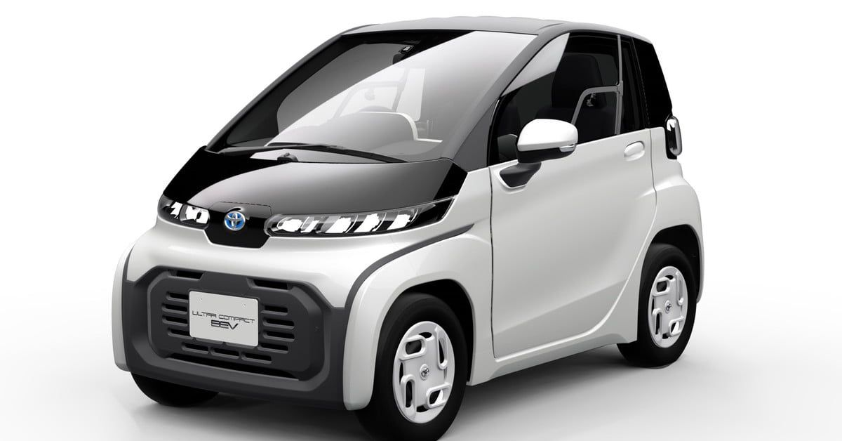 Toyota has a new electric car for you — and it's about the size of a golf cart