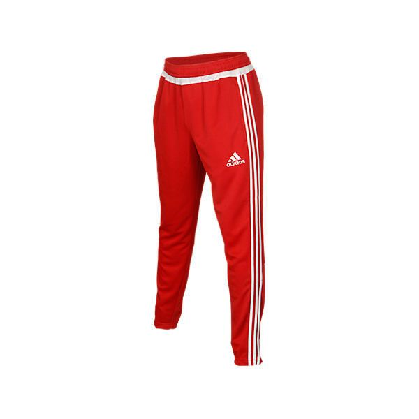 cbed076a3 Adidas Men's Tiro Training Pants, Red ($45) ❤ liked on Polyvore featuring  men's fashion, men's clothing, men's activewear, men's activewear pants, red,  ...