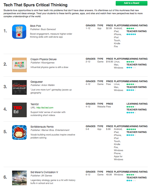 critical thinking apps