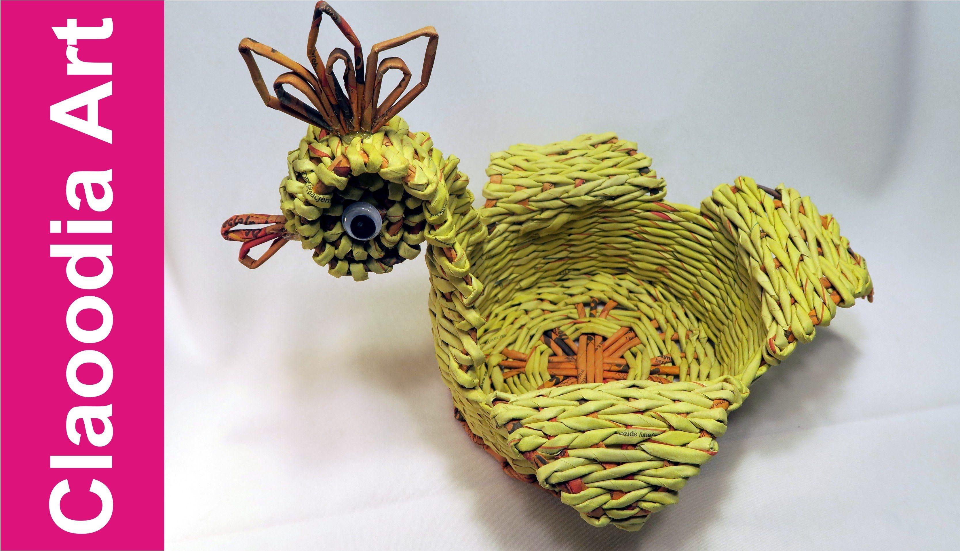 Kwiaty Z Wikliny Papierowej Recznie Robione Ozdoby