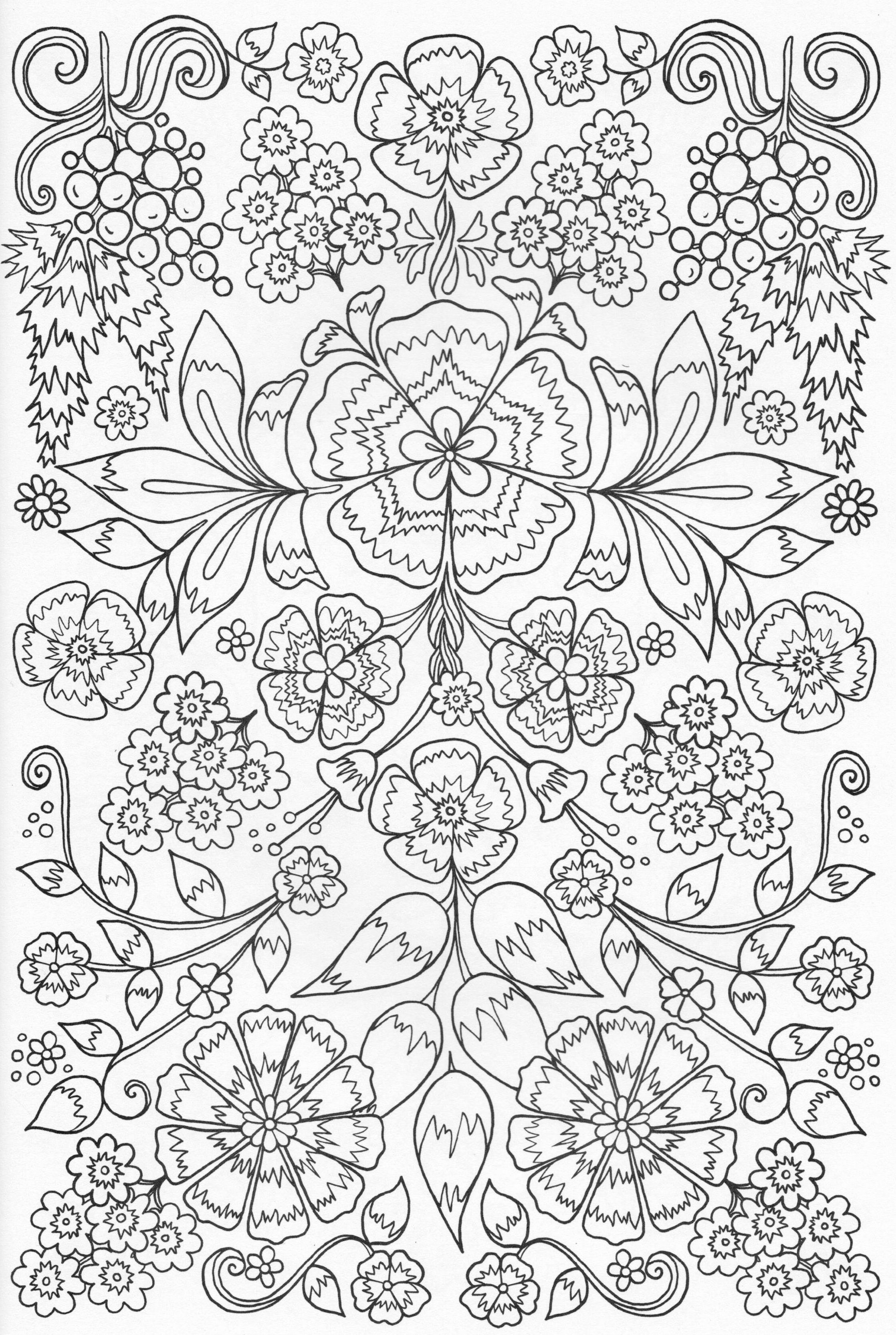 Adult coloring page | Just for fun | Pinterest | Colorear, Mandalas ...