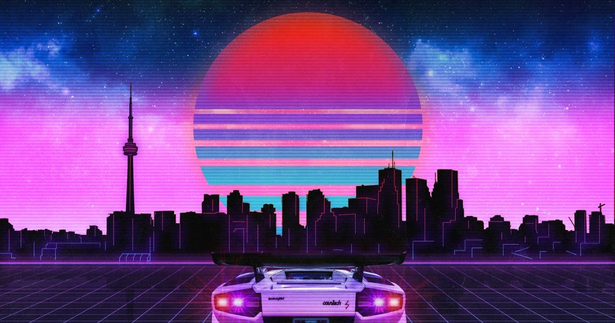 A Collection Of The Top 52 80s Neon Car Wallpapers And Backgrounds Available For Download For Free Wave In 2020 Neon Wallpaper Wallpaper Dekstop Retro Games Wallpaper