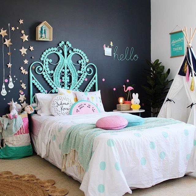 Boho Kids Bedroom Filled With Color  More Girls Room