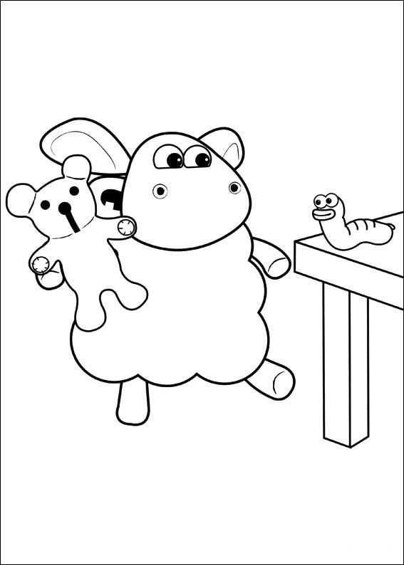 timmy das schäfchen 39 ausmalbilder für kinder