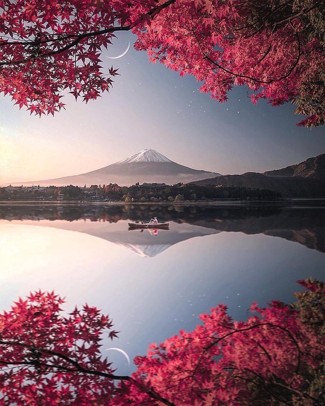 Гора ⛰ Фудзияма , Япония 🇯🇵 подписывайся 👉 @krasiviemesta ...