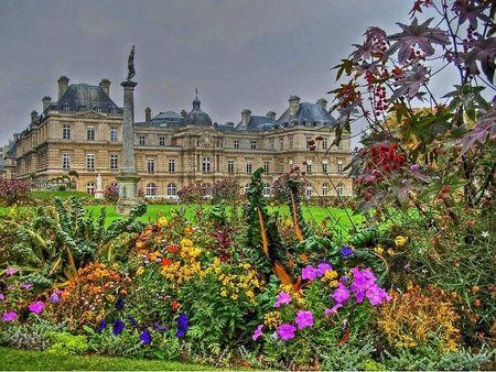 Luxemburg Gardens Paris France - Desktop Nexus Wallpapers