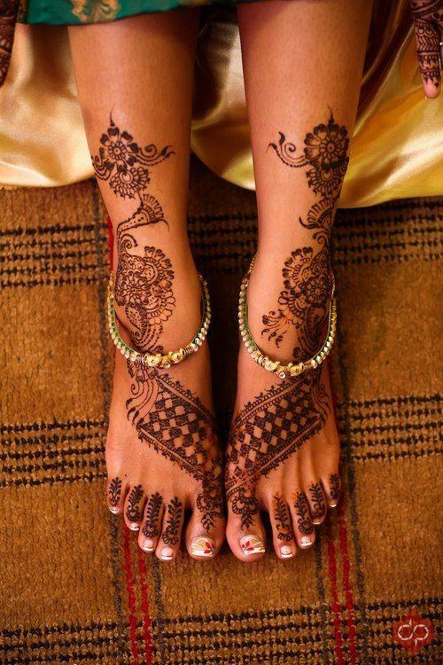 Foot Henna Tattoo Prices: ༺Mehendi Me Pretty༻