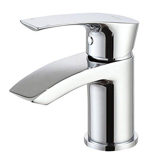 MICOE Badezimmer Wasserhahn Wasserfall Mischbatterie Bad Waschbecken ...