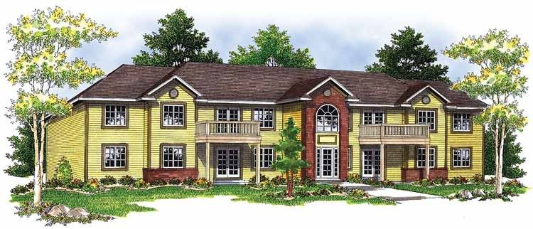 Colonial Style House Plan 8 Beds 8 Baths 7864 Sq Ft Plan 70 1398 Colonial House Plans Colonial Style Homes Monster House Plans