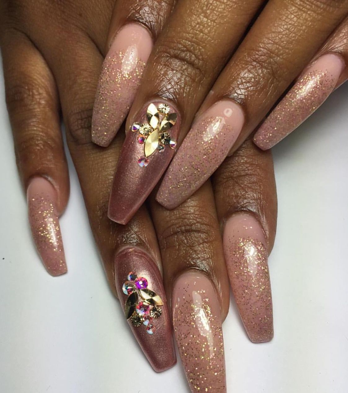 Pin by Quenesha on N A I L S | Pinterest | Nail nail