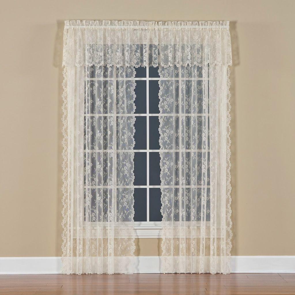 Petite 1 Pack Fleur Window Curtain Kohls In 2020 Panel