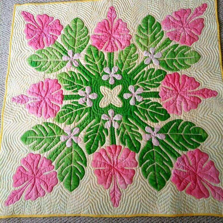 Pin von Zsuzsanna Schenk auf Hawaiian Quilt | Pinterest