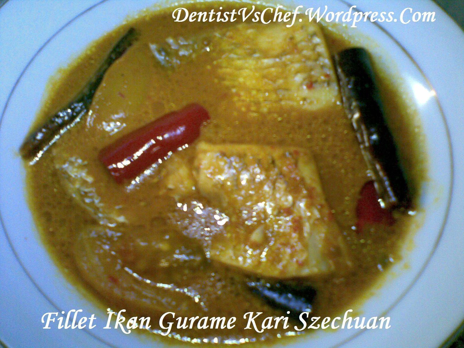 Resep Kari Ikan Szechuan Ala Dentist Chef Makanan Resep Ikan Kari