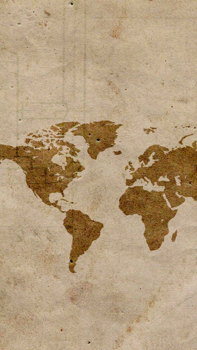 Map #iPhone #5s #wallpaper iPhone SE Wallpapers Pinterest - best of world map white background