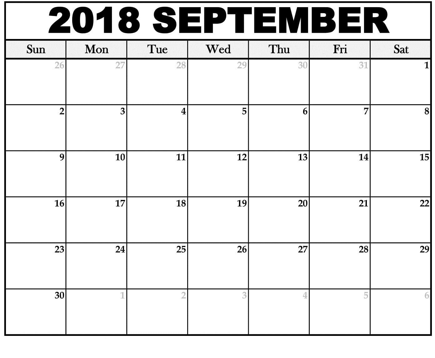 September 2018 calendar for powerpoint free printable september september 2018 calendar for powerpoint maxwellsz