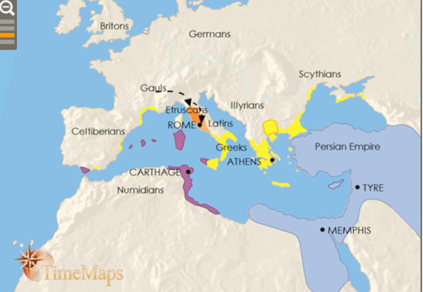 Roman Empire 390 Bc