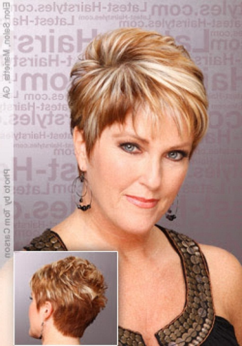 Short Haircuts For Women Front And Back View Short Hairstyles For