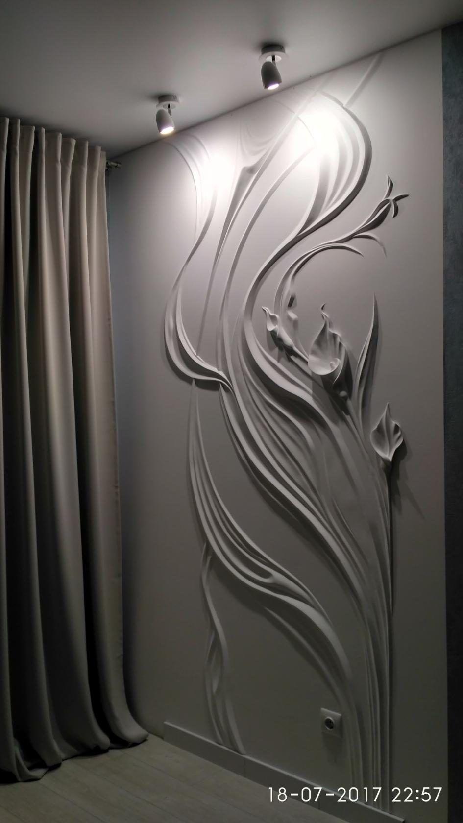 Photos | decoración de paredes | Pinterest | Yeso, Textura y Cuadro